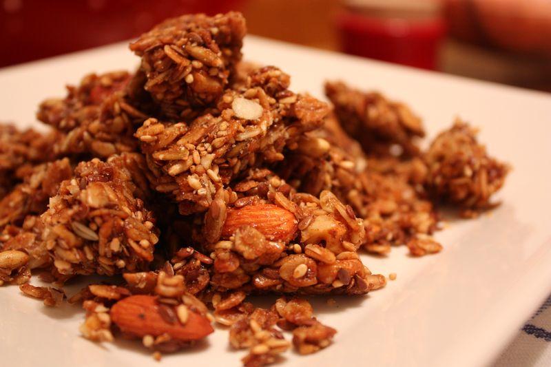 Granola cluster